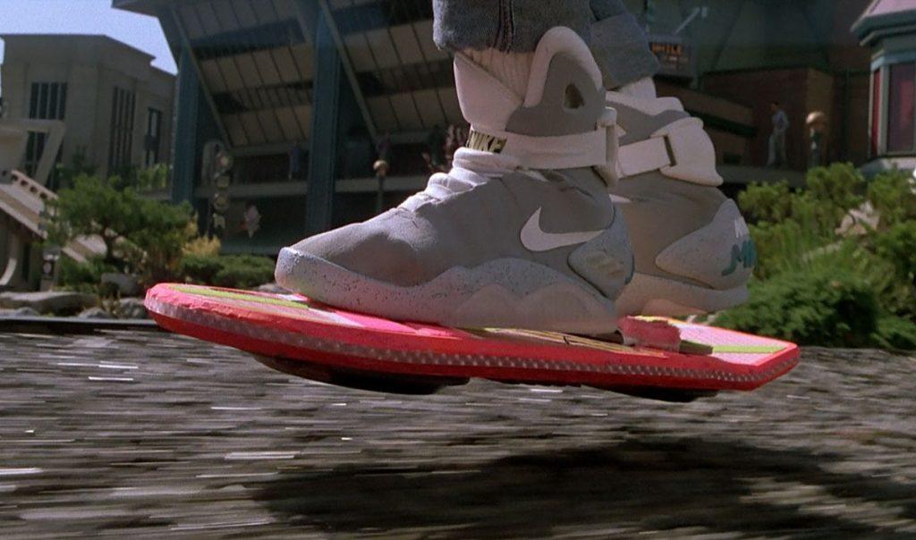 Nike en Volver al Futuro, ejemplo de marcas en películas
