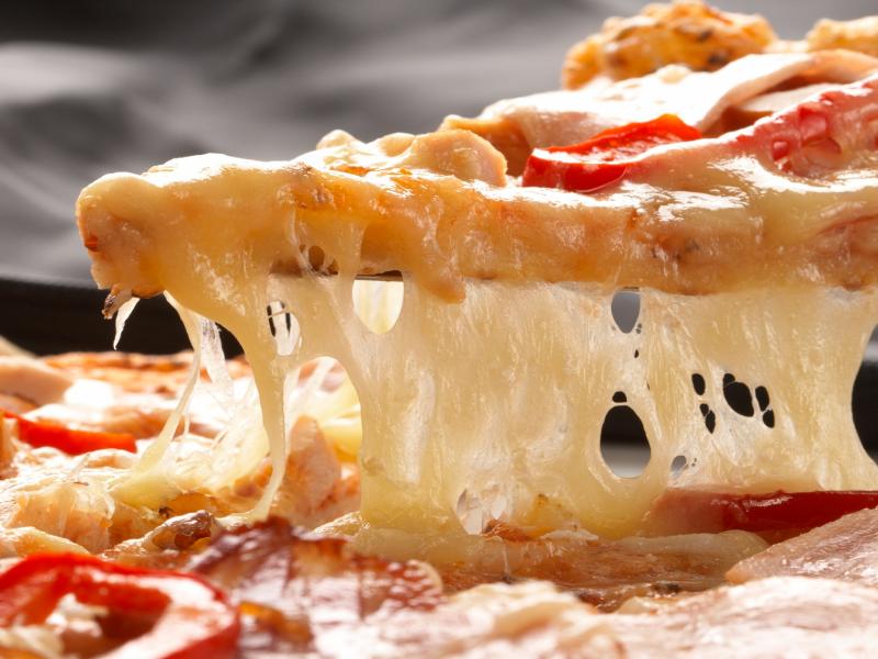 queso para preparar una deliciosa pizza 1
