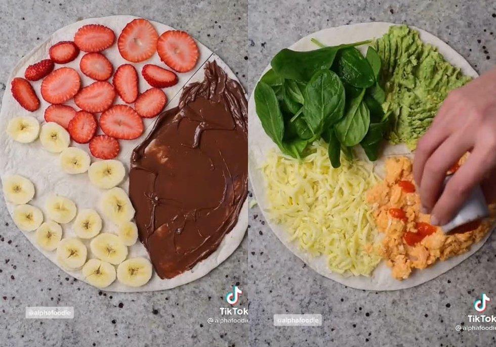 Recetas de cocina de TikTok: Crepa