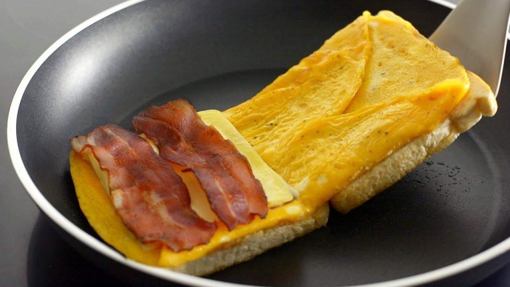 Recetas de cocina de TikTok: Sándwich
