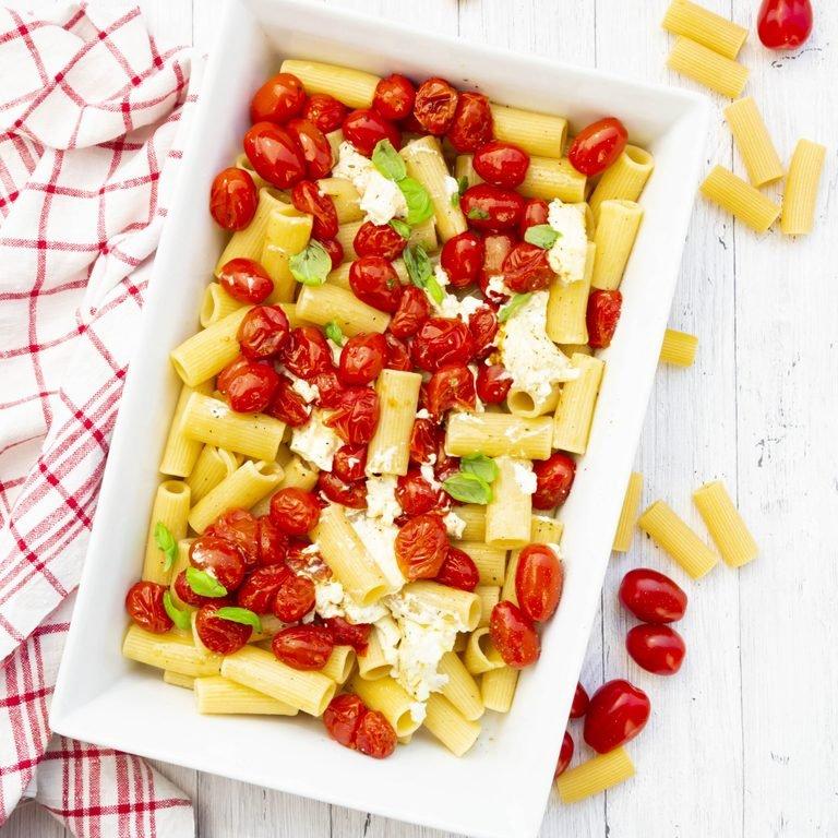 Recetas de cocina de TikTok: Pasta Feta