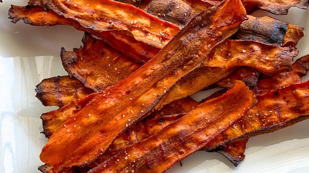 Recetas de cocina de TikTok: Tocino vegano